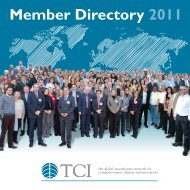 Member Directory 2011 - TCI Network