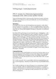 FPES remissyttrande 2006-10-01