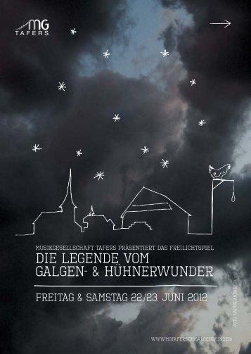 Die Legende vom Galgen- & Hühnerwunder - Musikgesellschaft ...