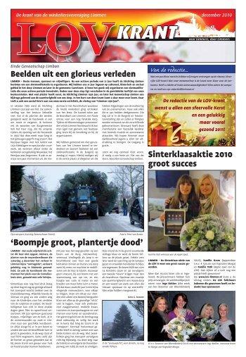 December 2010 - Studio Welgraven