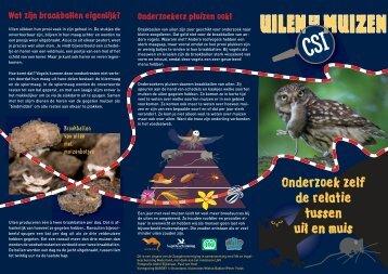 Uilen & Muizen CSI folder (pdf) - De Zoogdiervereniging