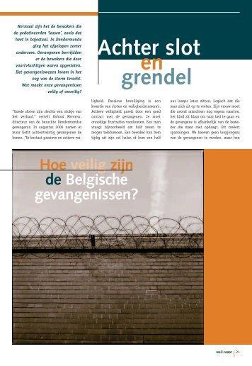 Hoe veilig zijn de Belgische gevangenissen? - Weliswaar