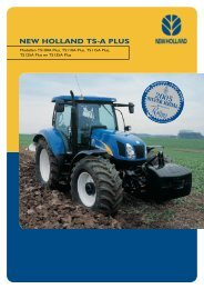 Folder landbouwtractoren TS-A Serie Delta en Plus ... - Firma Thomas