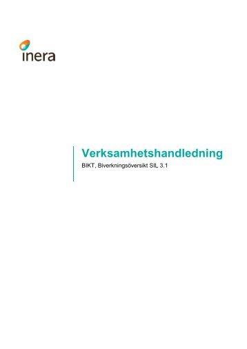 Verksamhetshandledning BIKT 0.2 - Inera
