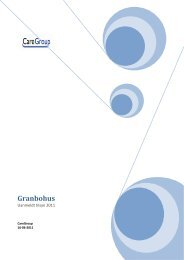 Uanmeldt tilsyn 2011 - Granbohus