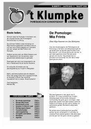 Nummer 2 - Maart 2008 - Pomologisch Genootschap Limburg