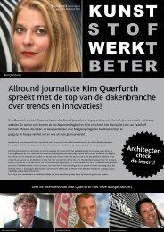 Allround journaliste Kim Querfurth spreekt met de top ... - Proofs Daken