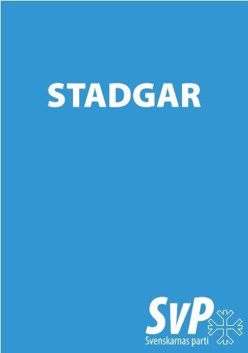 STADGAR - Svenskarnas parti
