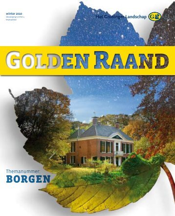 BORGEN - Stichting Het Groninger Landschap