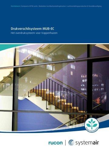 Drukverschilsysteem MUB-EC - Systemair