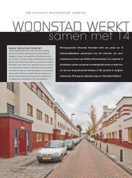 WOONSTAD WERKT R - SW BV
