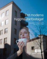 EMB årsredovisning 2006 - Einar Mattsson