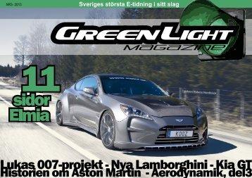 Lukas 007-projekt - Nya Lamborghini - Kia GT - GreenLight Magazine