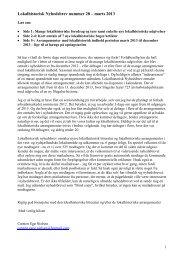Download Lokalhistorisk Nyhedsbrev nr. 28 udgivet af Carsten Egø ...