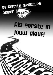 1 Juli - Augustus - September - Kazou Zuid West Vlaanderen