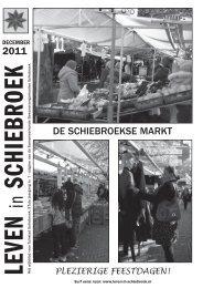 2011 DE SCHIEBROEKSE MARKT - Leven in Schiebroek