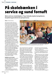 På skolebænken i service og sund fornuft - Taxa Selandia