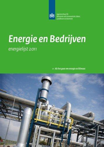 Energie en Bedrijven - Energielijst 2011 - Rofianda
