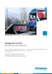 Wedge Barrier K12 - Perimeter Protection Group