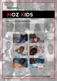 Nieuwsbrief juni 2012 - Moz Kids