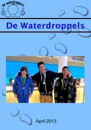 2013 april - De Waterdroppels