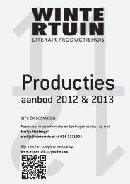 aanbod producties 2012-2013 printvriendelijk - Wintertuin