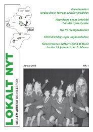 Nr. 1 - Januar 2013 (PDF dokument på 3 - Lokalt Nyt