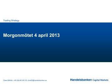 4 april 2013 (pdf) - Handelsbanken
