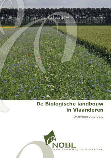 De Biologische landbouw in Vlaanderen - NOBL