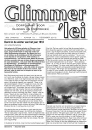 Glimmer'lei november 2012 - Glimmen