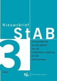 StAB Jurisprudentietijdschrift 2002, 3