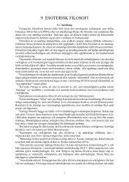 9 ESOTERISK FILOSOFI - Henry T. Laurency Publishing Foundation