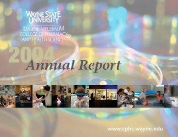Annual Report - Eugene Applebaum College of Pharmacy and ...