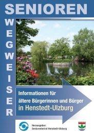 Informationen für ältere Bürgerinnen und Bürger - Gemeinde ...