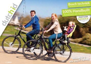 De Dutch ID E-Bike brochure