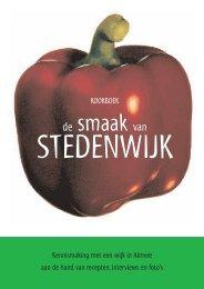kookboek - Inloophuis De Ruimte