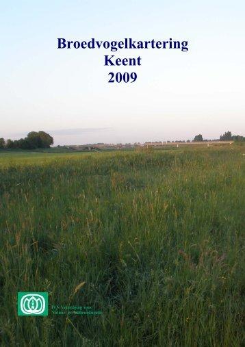 Rapport broedvogelkartering 2009 Keent - Groot Grave