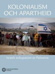 israels ockupation av palestina - Palestinagrupperna i Sverige