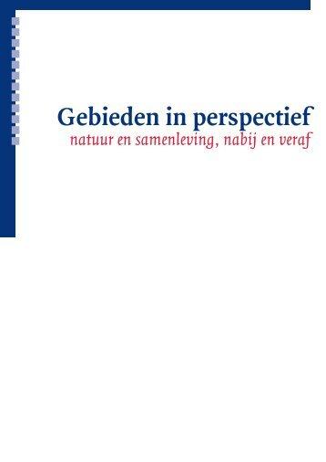 Gebieden in perspectief - Koninklijk Nederlands Aardrijkskundig ...