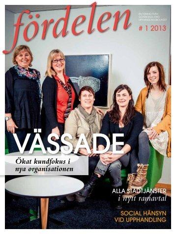Fördelen #1 2013 - Göteborgs Stad - Upphandlingsbolaget