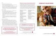 Se folder: Kend dit kolesterol - Hjerteforeningen