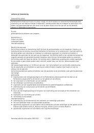 Klik hier voor het volledige advies van Letteren en ... - RRKC