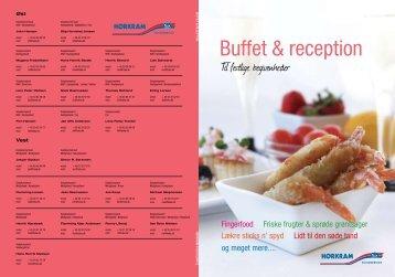 Buffet & reception - Hørkram