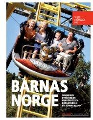24 siders brosjyre om Barnas Norge