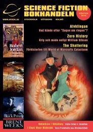 vår nya katalog - Science Fiction Bokhandeln