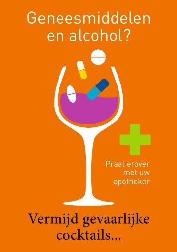 Geneesmiddelen en alcohol? - Apotheek.be
