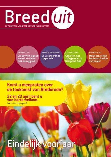 bewonersblad 36 - Brederode Wonen