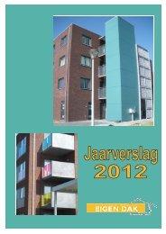 Jaarverslag 2012 - Eigen dak