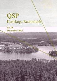 QSP 2012 nr 10 - Välkommen till SK4KR