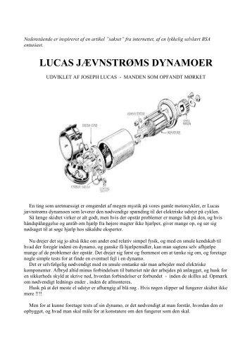 Lucas Dynamo
